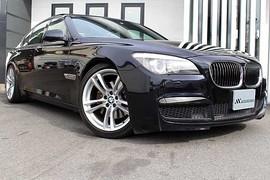 BMW 740i MスポーツPKG HDDナビ 黒革 SR