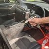 車内清掃・消毒徹底してお渡し致します