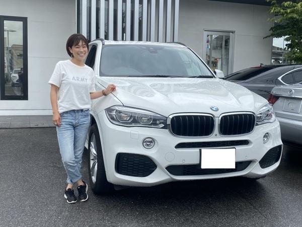 愛知県 S様 BMW X5 Mスポーツ